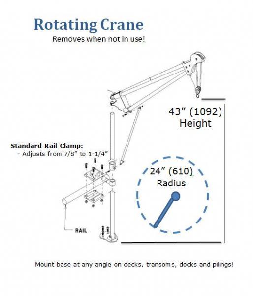 120 motor lift for Motorized rotating crane hook